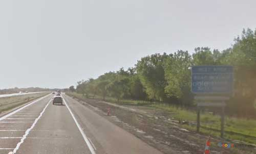 ne interstate 80 nebraska i80 brady welcome center rest area marker 193 westbound off ramp exit