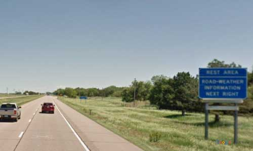 ne interstate 80 nebraska i80 cozad welcome center area marker 226 eastbound off ramp exit
