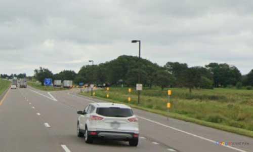 ne interstate 80 nebraska i80 grand island rest area marker 315 eastbound off ramp exit