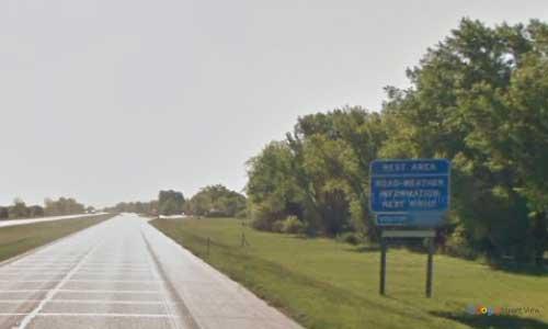 ne interstate 80 nebraska i80 kearney welcome center rest area marker 269 eastbound off ramp exit