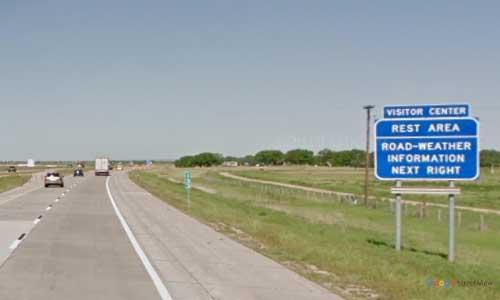 ne interstate 80 nebraska i80 ogallala welcome center rest area marker 132 westbound off ramp exit