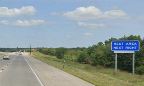 ne interstate 80 nebraska i80 platte river rest area marker 425 eastbound off ramp exit