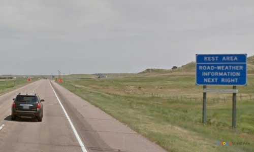 ne interstate 80 nebraska i80 sidney rest area marker 51 eastbound off ramp exit