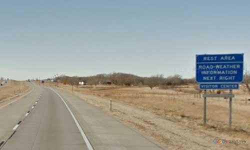 ne interstate 80 nebraska i80 sutherland rest area-marker 159 westbound off ramp exit